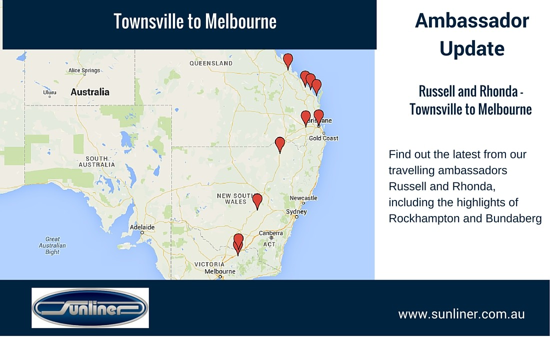 Ambassador Journey - Townsville to Melbourne