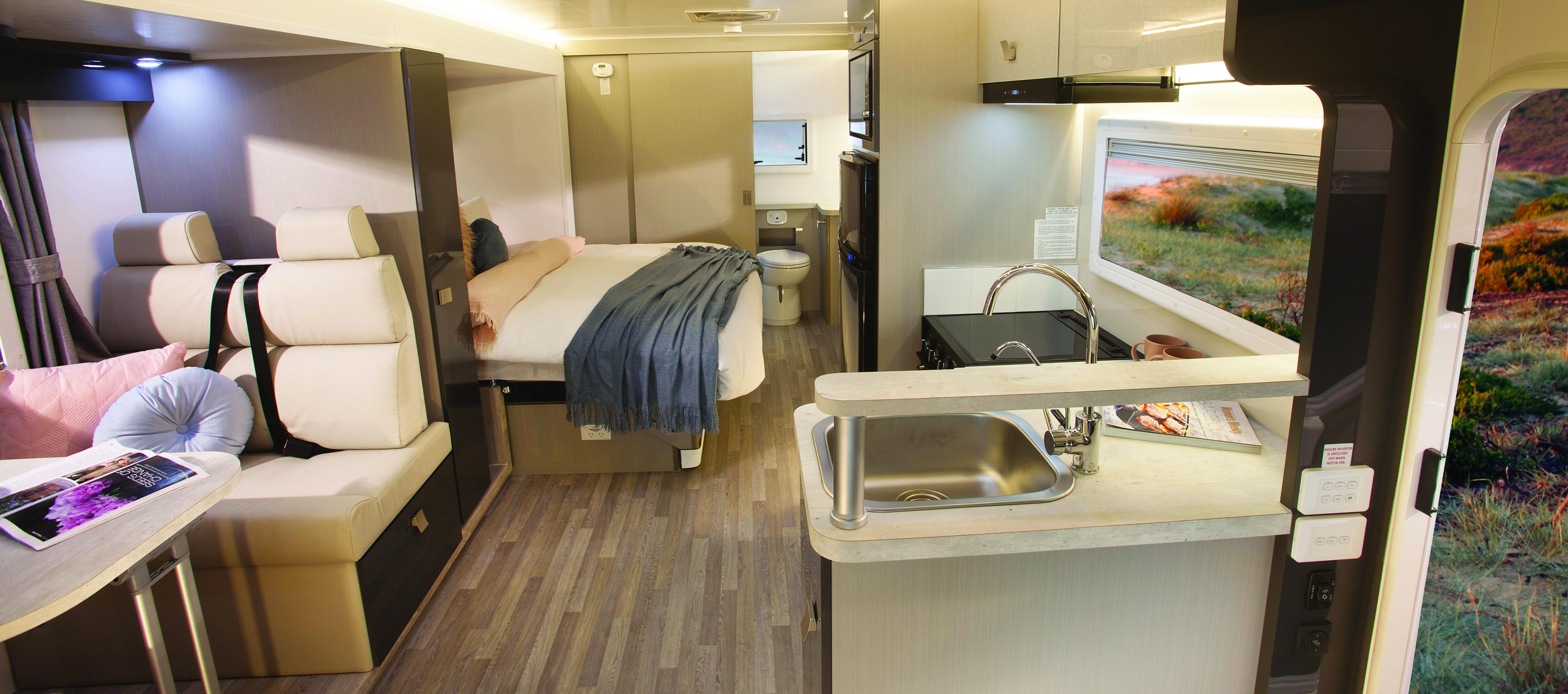 NAVIAN – Sunliner Navian Motorhome – a luxury mid sized motor home