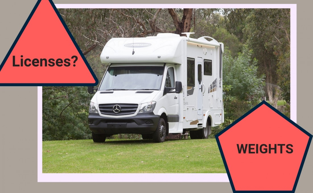 Motorhome Weights and Licenses explained