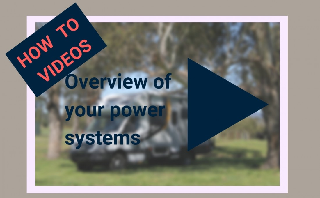 An overview of power systems in your Motorhome / RV