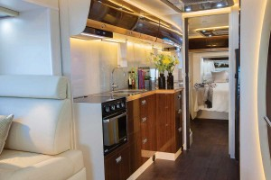 Sunliner Monte Carlo MC3 - Fully equipped kitchen