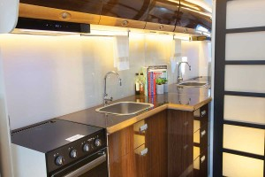 Sunliner Monte Carlo MC3 - Kitchen