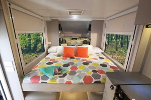 Sunliner Habitat HA1 bed