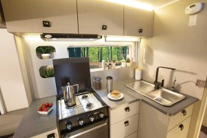 Sunliner Habitat HA1 - Kitchen