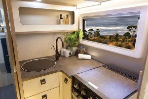 Sunliner Habitat HA4 - Kitchen